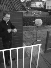 Microphones in the garden