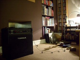 Living room with pedals