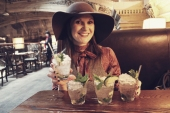 Joan with Mojitos. .